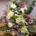 Ramo de novia campestre e invernal