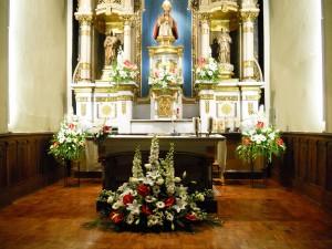 Decoración San Fermín de Aldapa para boda