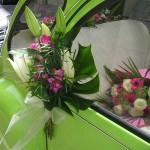 manilla coche boda