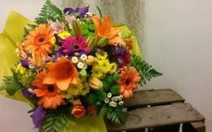 Bouquet variado para cumpleaños